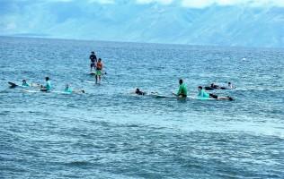 Kaanapali beach surf