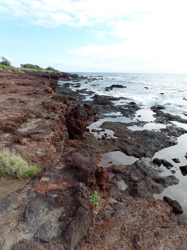 Lanai shoreline