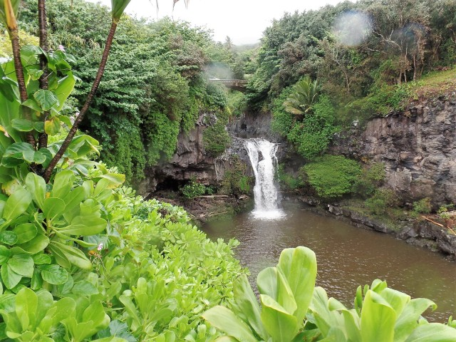 Lower Falls, Haleakala National Park