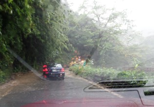 A wet day on the Hana Highway