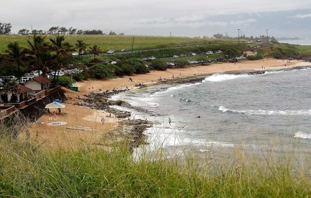 Beach near Kahului