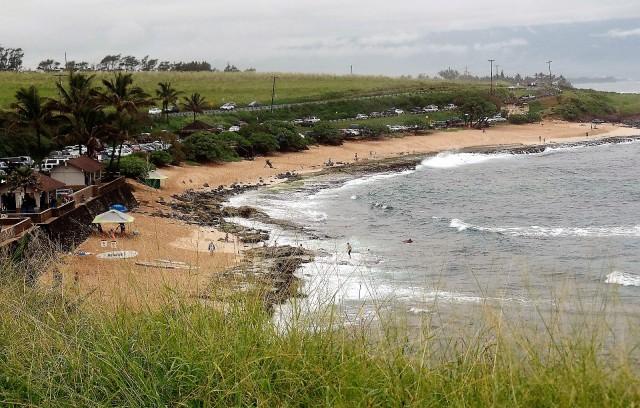 Beach near Kahului