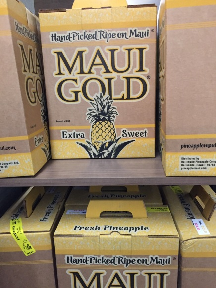 Maui Gold ready for shipment