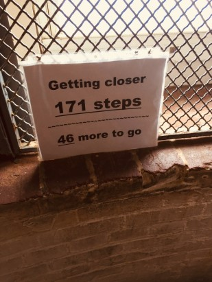Lighthouse stair count