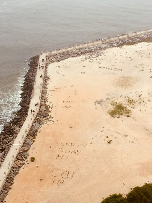 Barnegat State Park beach and jetties