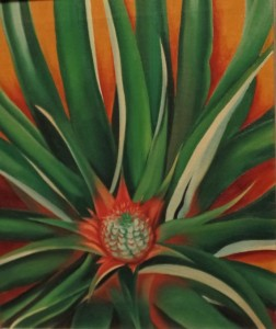 O'Keeffe painting