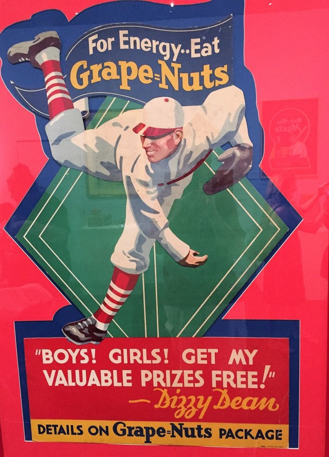 Dizzy Dean cereal ad