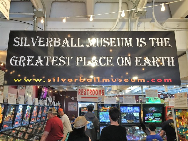 Pinball arcade and museum on the boardwalk in Asbury Park