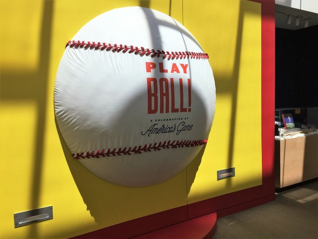 baseball exhibit at Denver Museum
