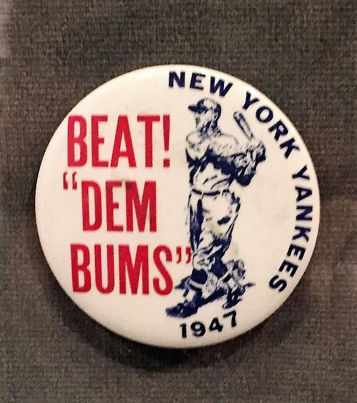 New York Yankees baseball pin