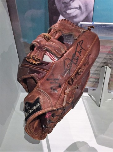 Willie Mays glove