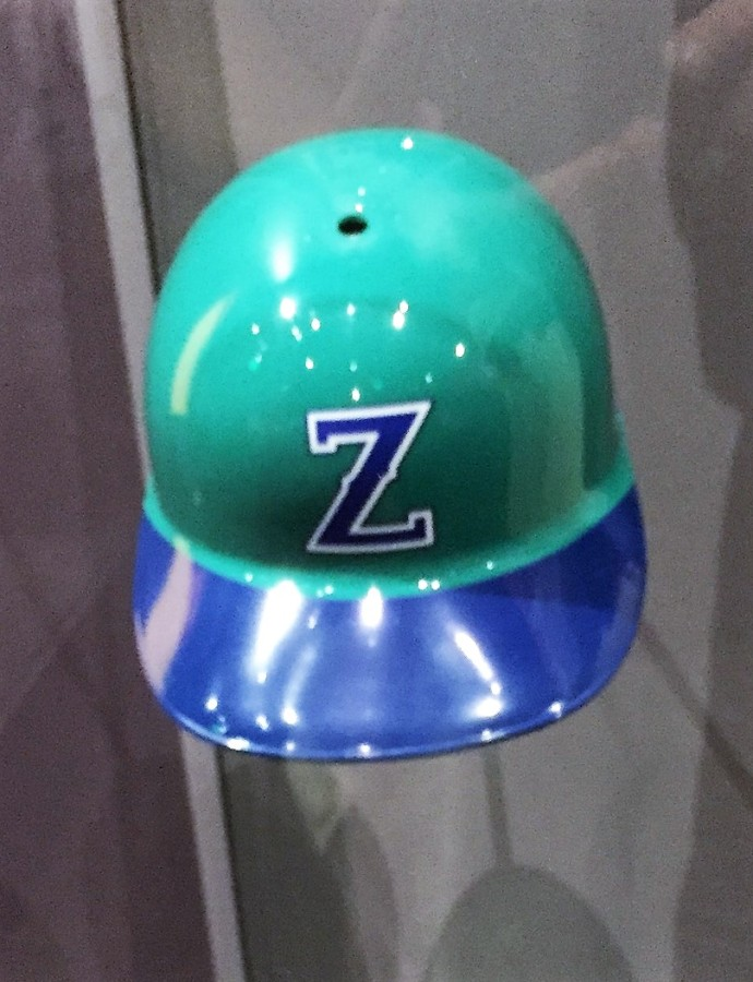Denver Zephyrs batting helmet