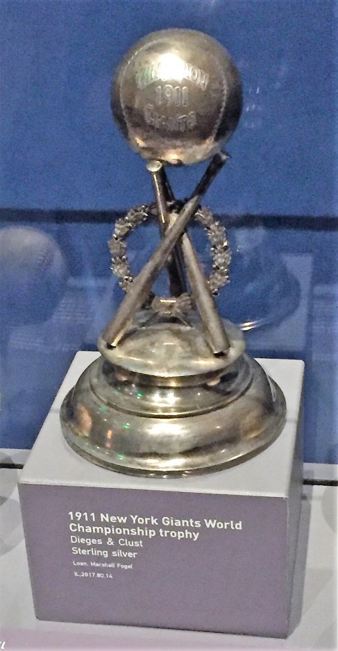 New York Giants 1911 championship trophy