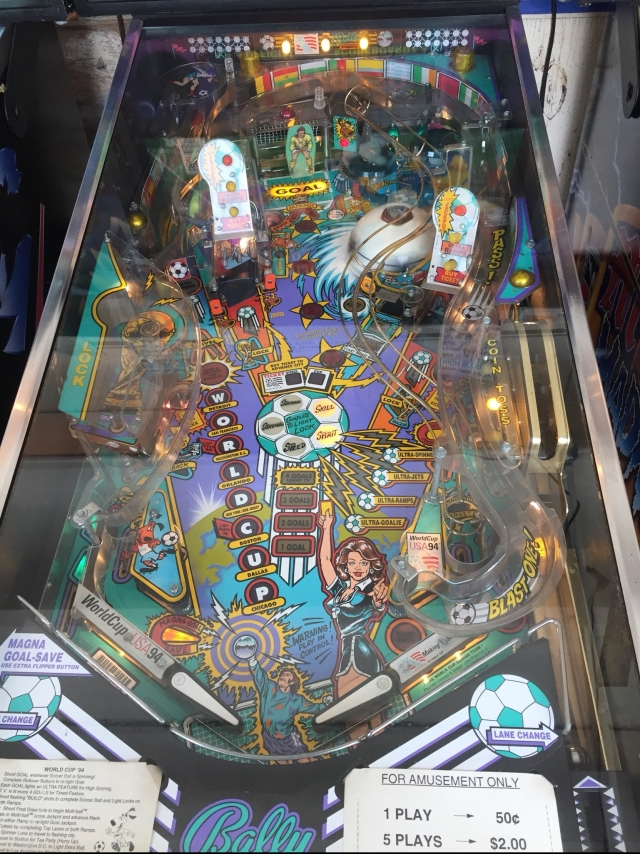 World Cup pinball machines