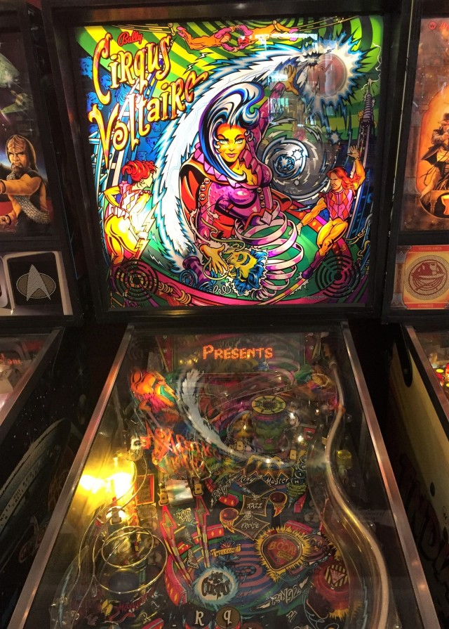 1997 pinball machine at the Silverball Museum
