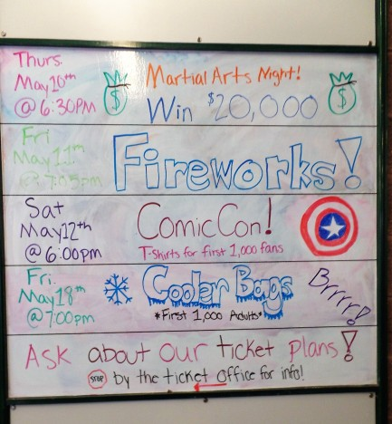 Somerset Patriots promotional events
