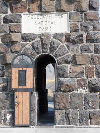 Doorway to Yellowstone National Park