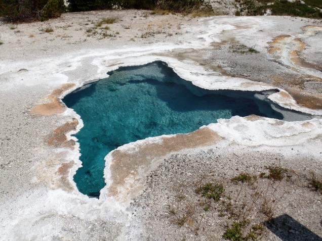 Geothermal feature at Yellowstone National Park