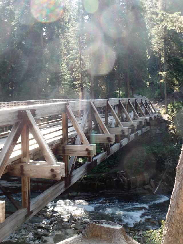 Bridge over the Gallatin River