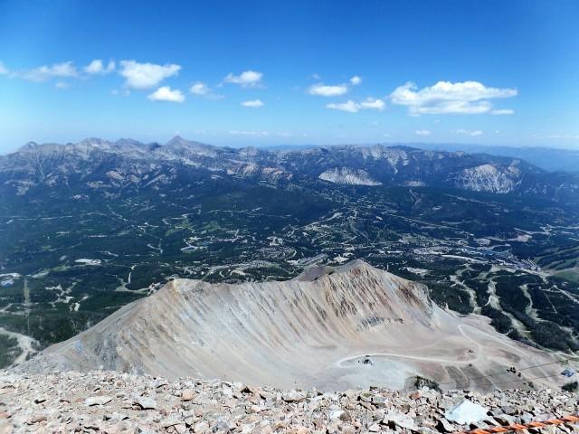 Atop Lone Peak