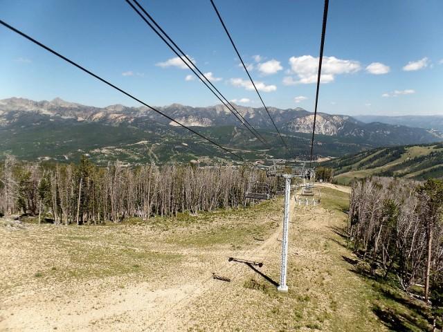 Big Sky ski lift