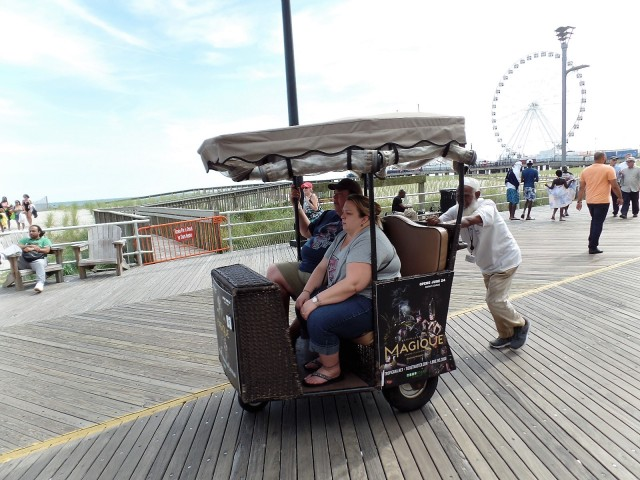 Boardwalk pushcart, Atlantic City