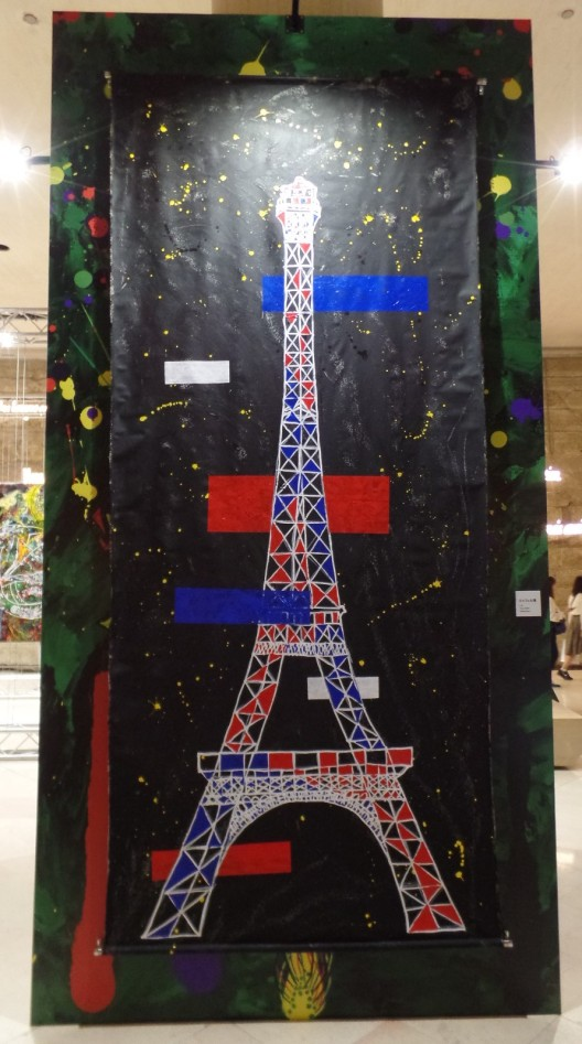 Eiffel Tower, Shingo Katori