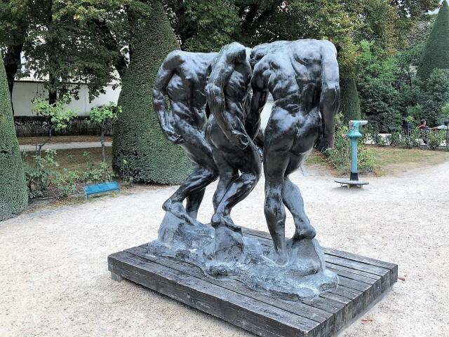 Rodin's Les Ombres