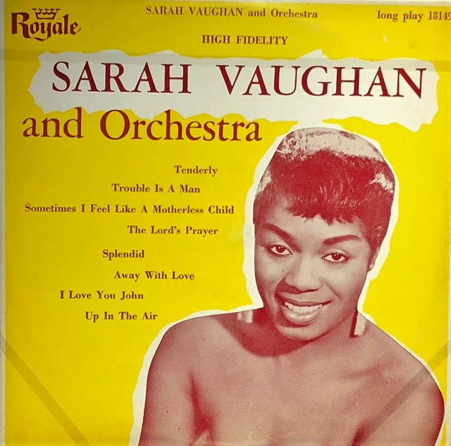 Sarah Vaugan LP