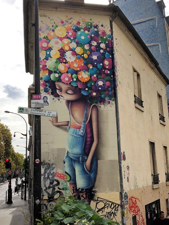 Parisian street art