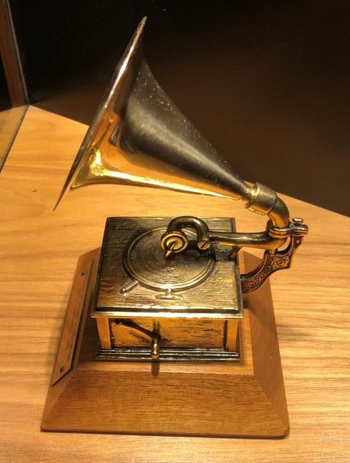 The first Grammy design