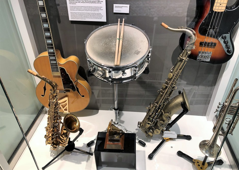 Kool and the Gang's instruments
