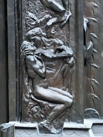 Detail from the Gates of Hell