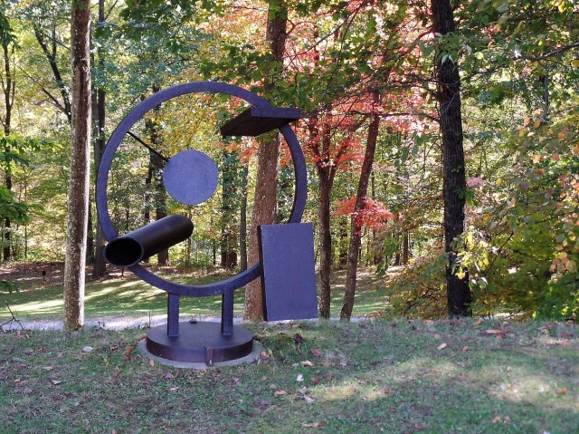 Richard Stankiewicz sculpture at Storm King Art Center