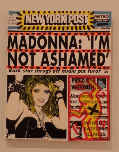 Warhol's Madonna news