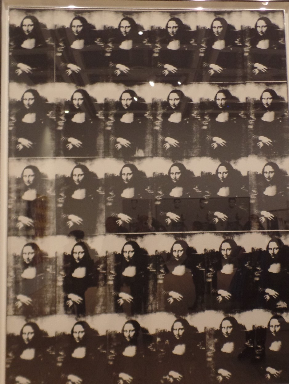 Warhol's Mona Lisa