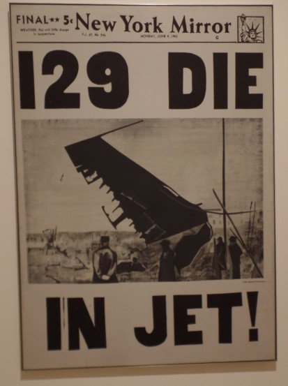 Warhol plane crash