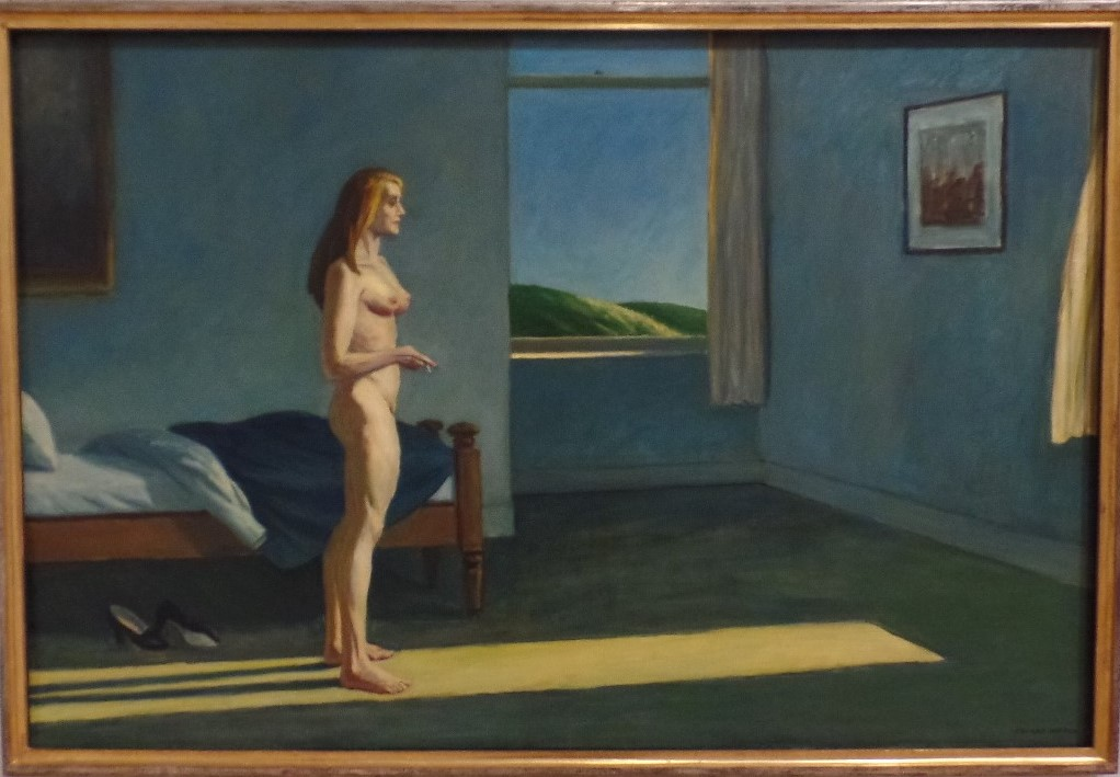 Hopper's A Woman in the sun