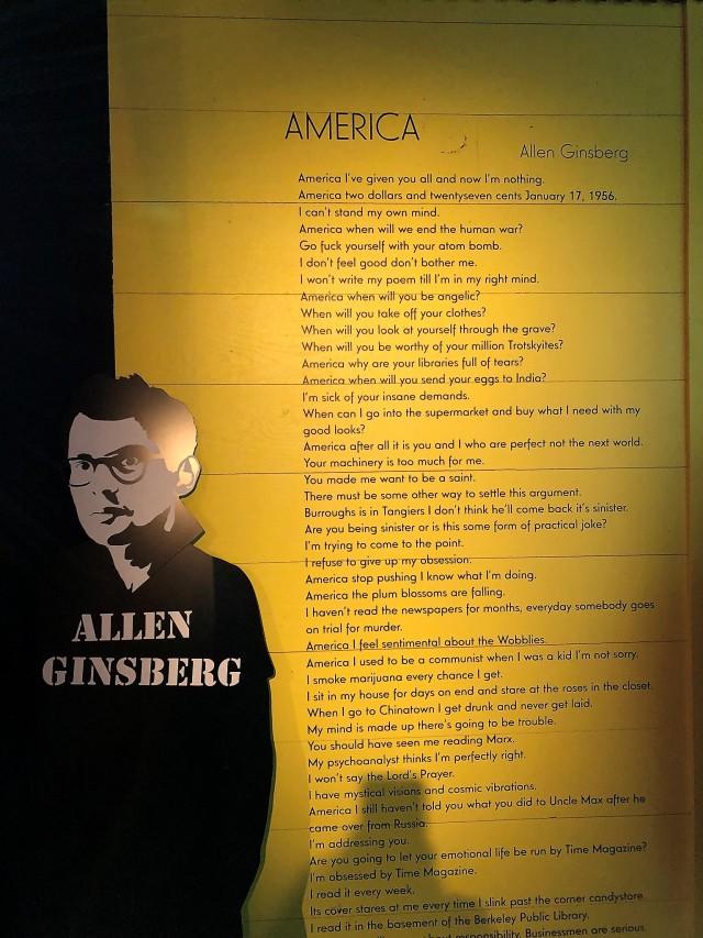 America, Allen Ginsberg