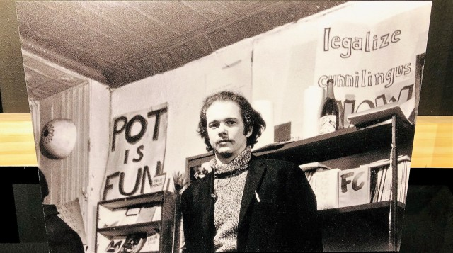 Poet Ed Sanders