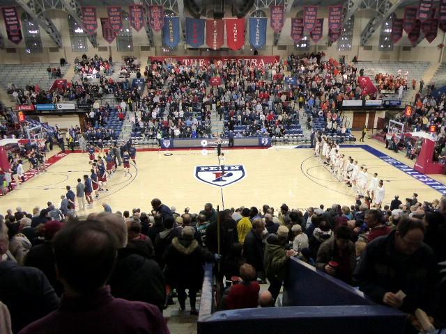 Penn vs. Princeton at the Palestra