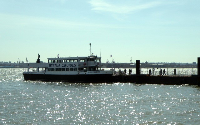Ferryboat to Ellis Island, State of Liberty