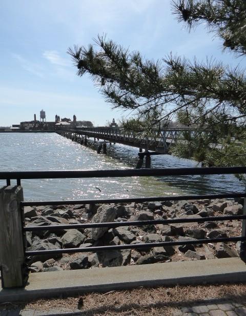 Ellis Island bridge
