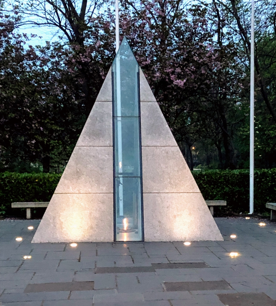 Merrion Square Park memorial
