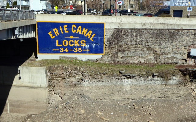Erie Canal sign