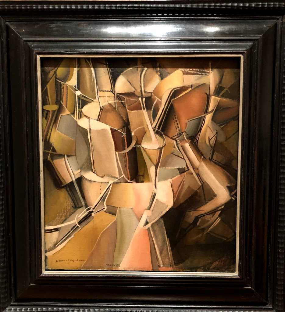 Marcel Duchamp painting