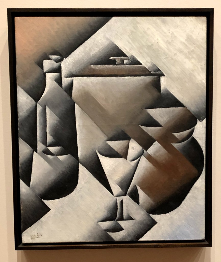Gris painting at MOMA