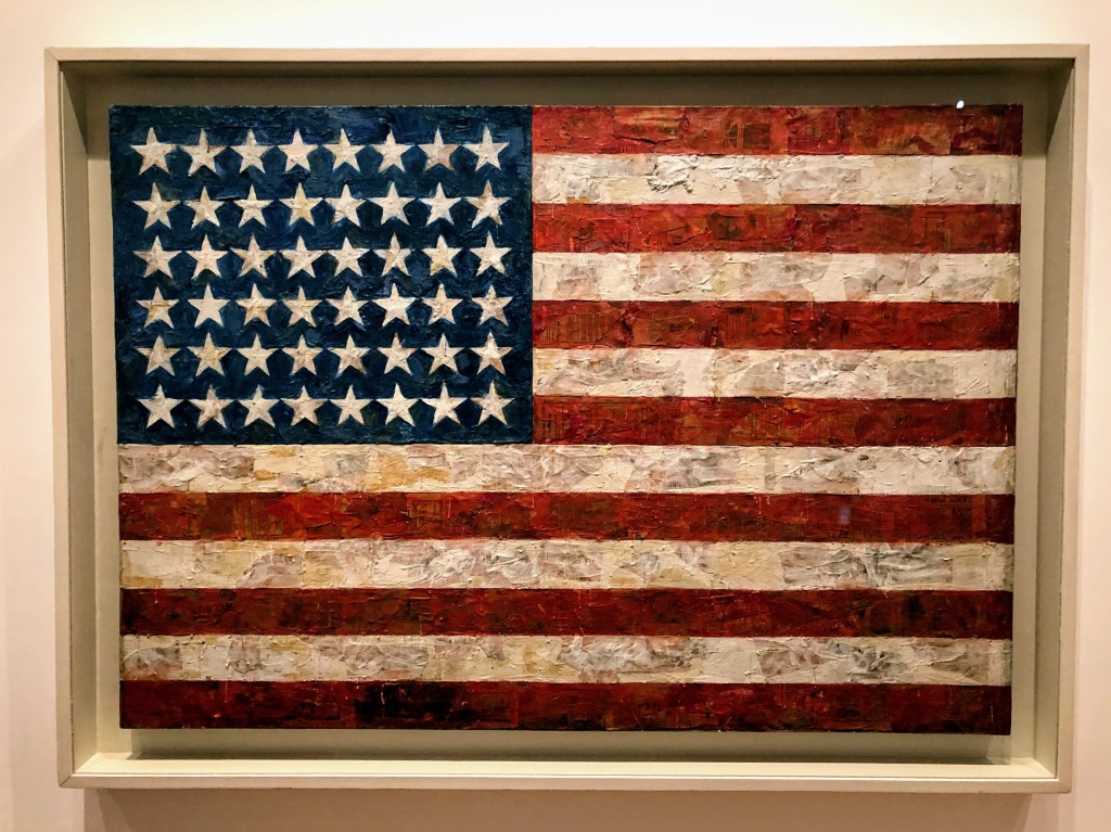 Johns' Flag at MOMA