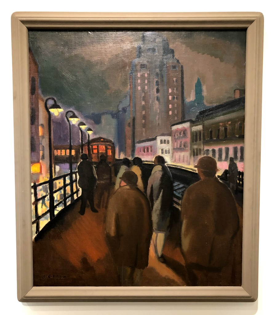 Elevated Station, Bernard Gussow