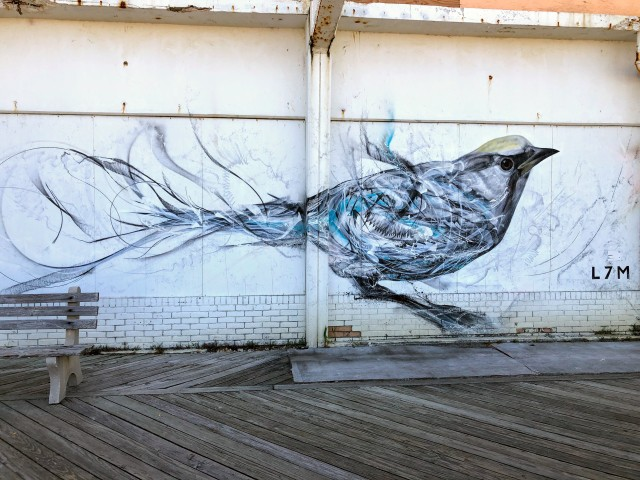 L7M boardwalk mural